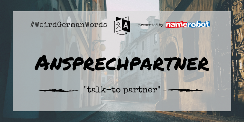 Ansprechpartenr-Weird-German-Words
