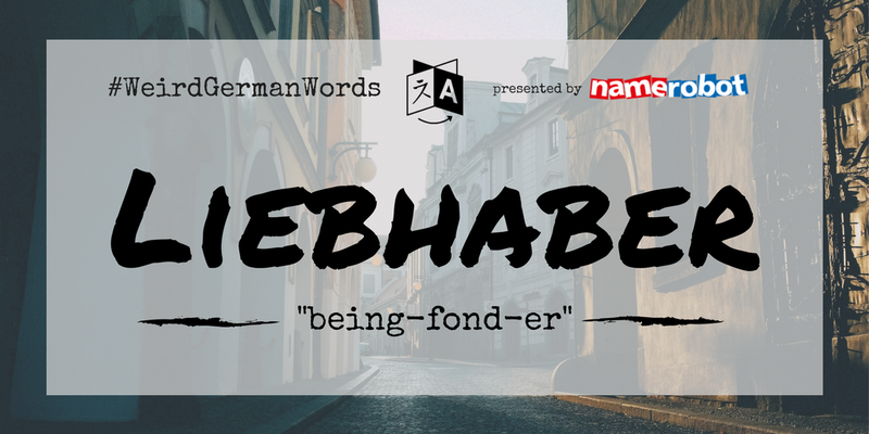 Liebhaber-Weird-German-Words
