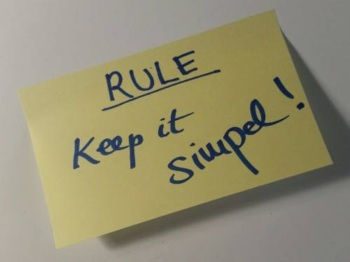 rule_keepitsimple